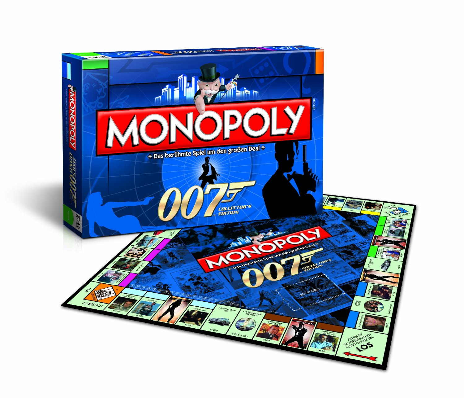 Vue de la version allemande du Monopoly James Bond 007 - 50e anniversaire