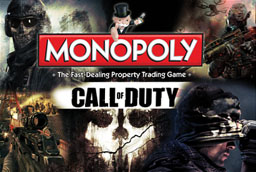 Boite du Monopoly Call Of Duty