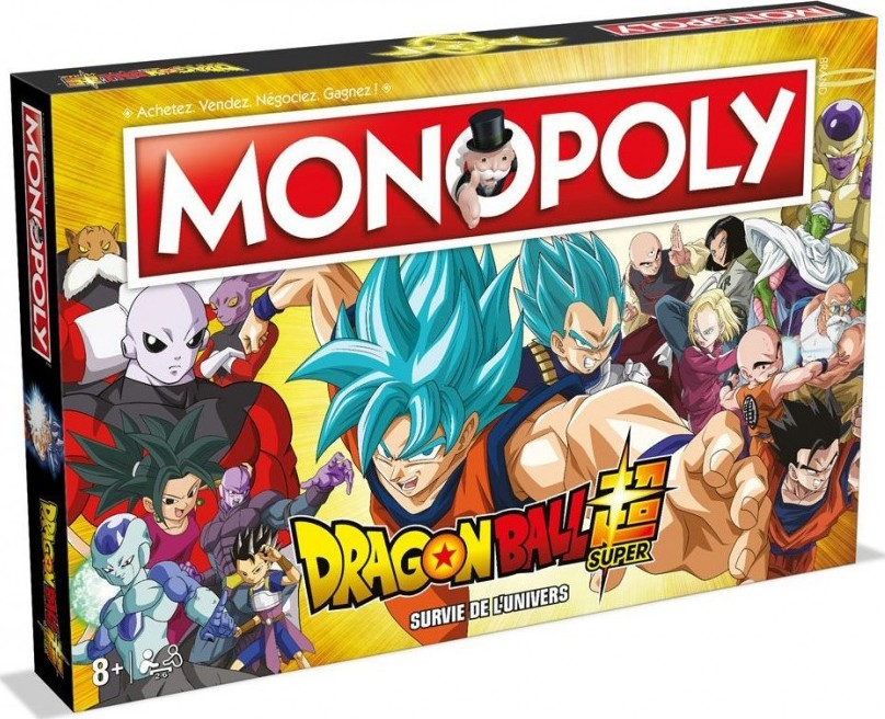 Boite du Monopoly Dragon Ball Super