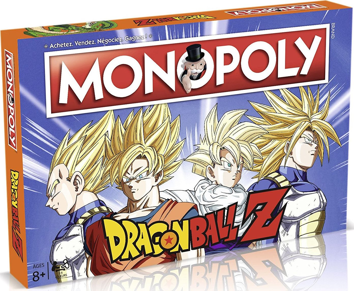 Boite du Monopoly Dragon Ball Z