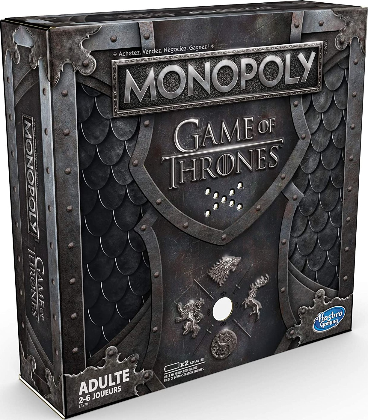 Boite du Monopoly Game of Thrones - version 2