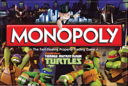 Boite du Monopoly Tortues Ninja - Teenage Mutant Ninja Turtles