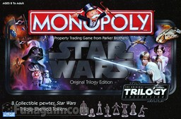 Boite du Monopoly Star Wars - Original Trilogy Edition