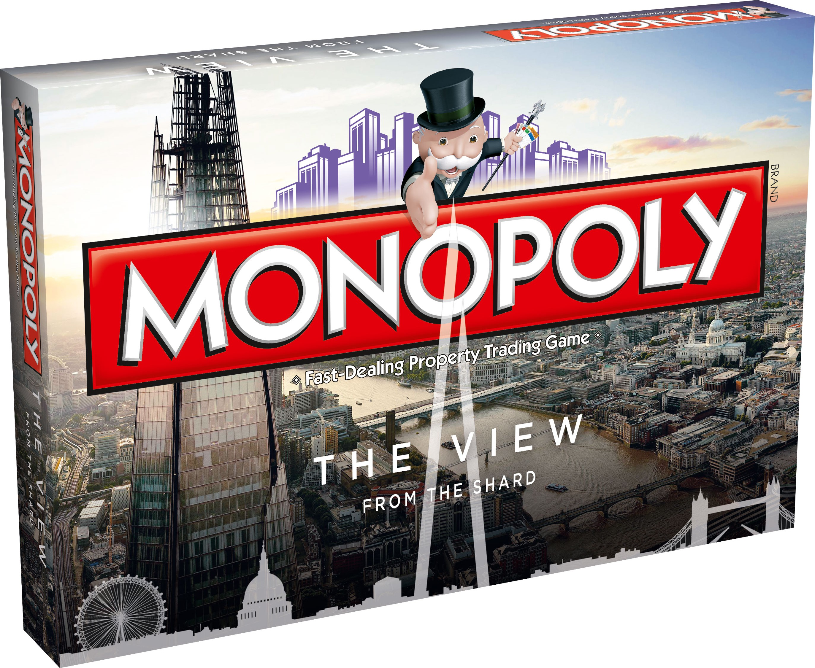 Boite en 3D du Monopoly The View from The Shard