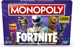 Boite du Monopoly Fortnite nouvelle version (version 2)