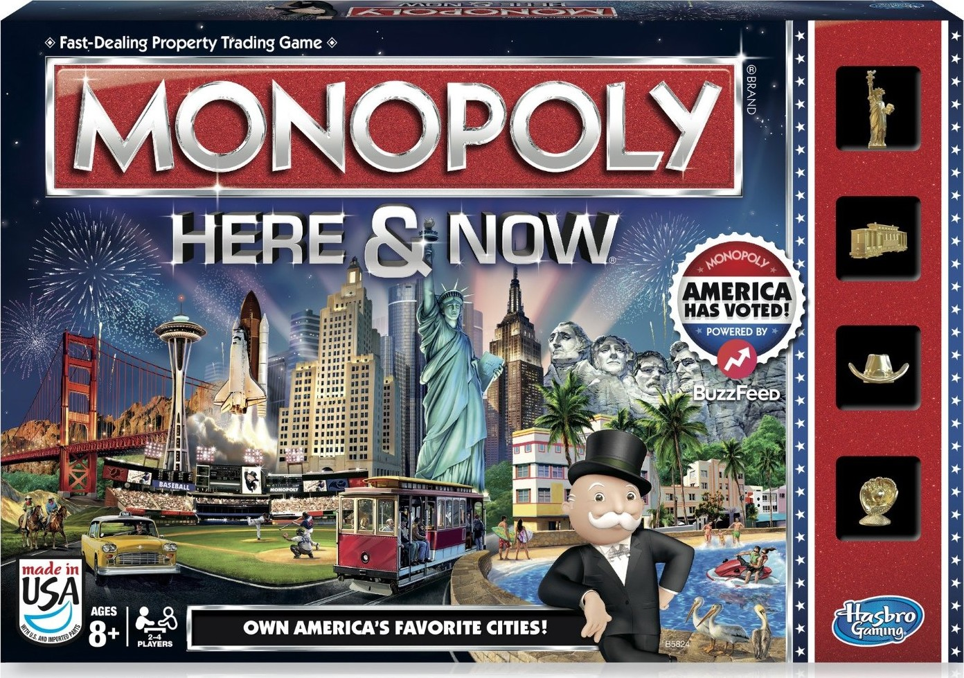 Boite du Monopoly Here And Now - Version US