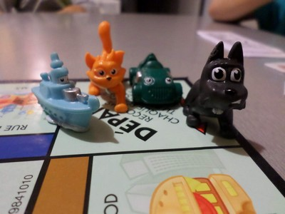 Pions du Monopoly Junior refresh