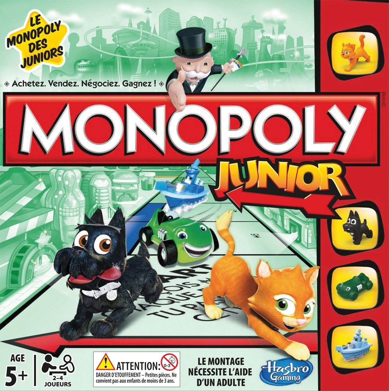 Boite du Monopoly Junior refresh