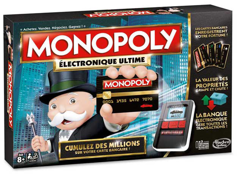 Boite du Monopoly Electronique Ultime - Ultimate Banking