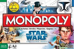 Boite du Monopoly Star Wars - The Clone Wars