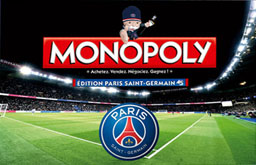 Boite du Monopoly Paris Saint-Germain