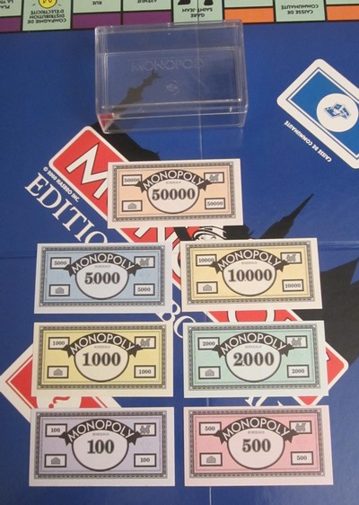 Billets du Monopoly Bordeaux (version 1)