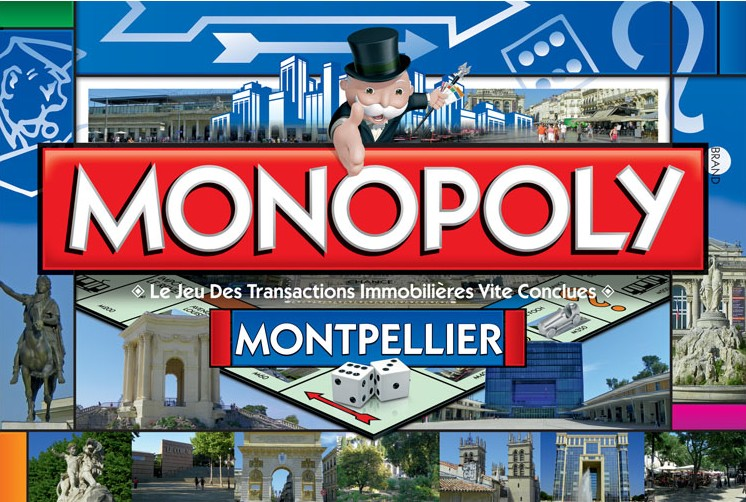 Monopoly montpellier version 2 for Boite montpellier