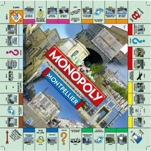 Plateau du Monopoly Montpellier (version 2)