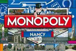 Boite du Monopoly Nancy (version 2)
