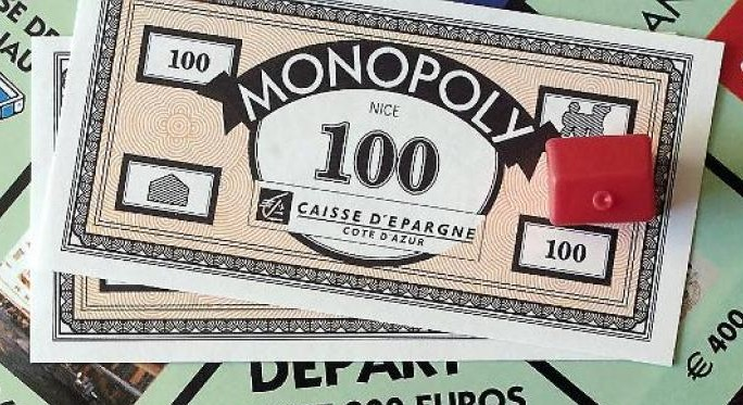 Billets du Monopoly Nice (version 1)