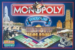 Boite du Monopoly Toulouse (version 1)