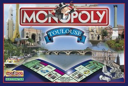 Boite du Monopoly Toulouse (version 2)