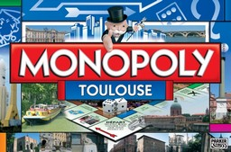 Boite du Monopoly Toulouse (version 3)