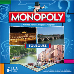 Boite du Monopoly Toulouse (version 2013)