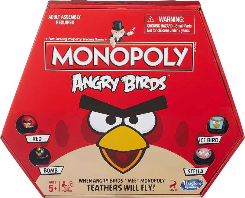 Boite du Monopoly Angry Birds
