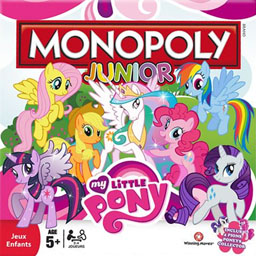 Boite du Monopoly Junior - My Little Pony