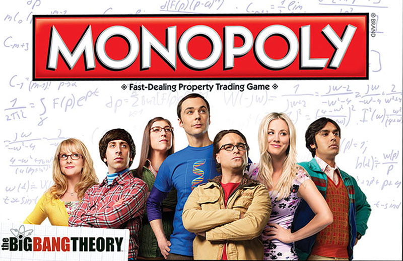 Boite du Monopoly The Big Bang Theory