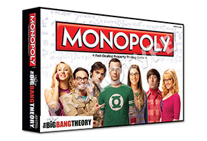 Projet de boîte (non abouti) du Monopoly The Big Bang Theory