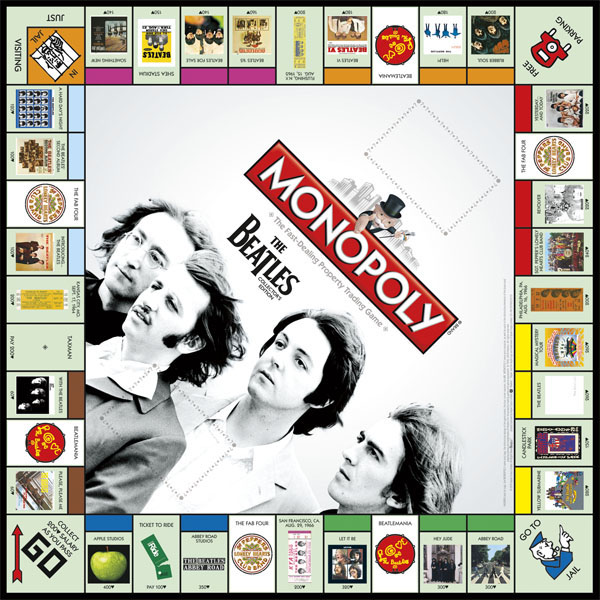 Plateau du Monopoly The Beatles (version 2)