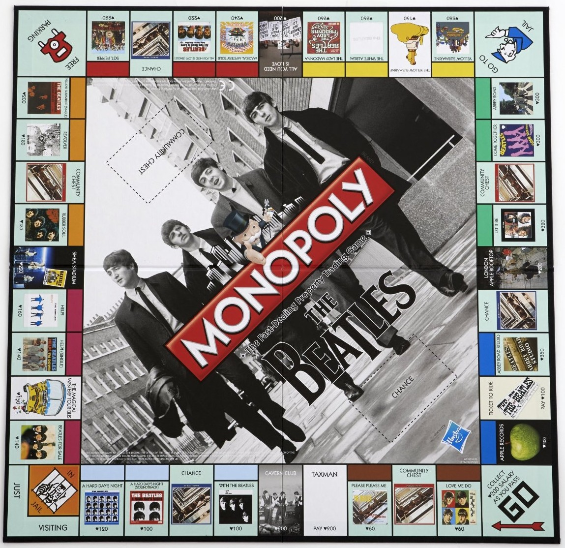 Plateau du Monopoly The Beatles (version 3)