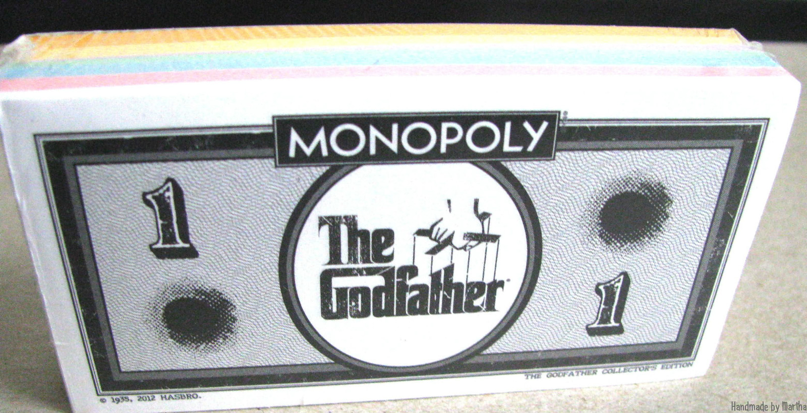 Billets du Monopoly The Godfather