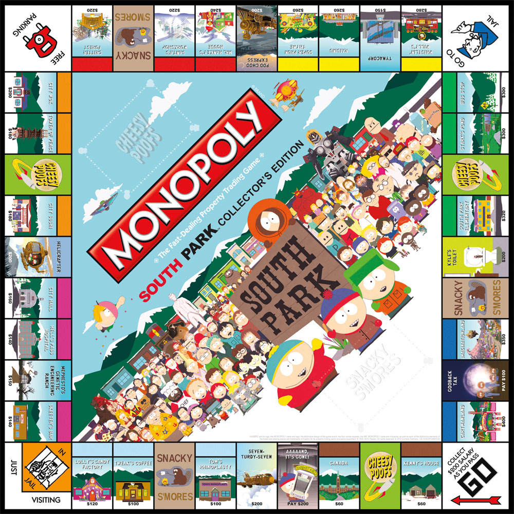 Plateau du Monopoly South Park