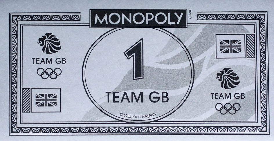 Billets du Monopoly Team GB