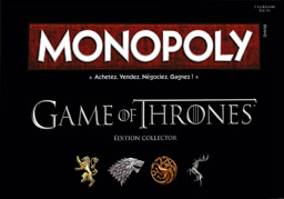Boite du Monopoly Game of Thrones