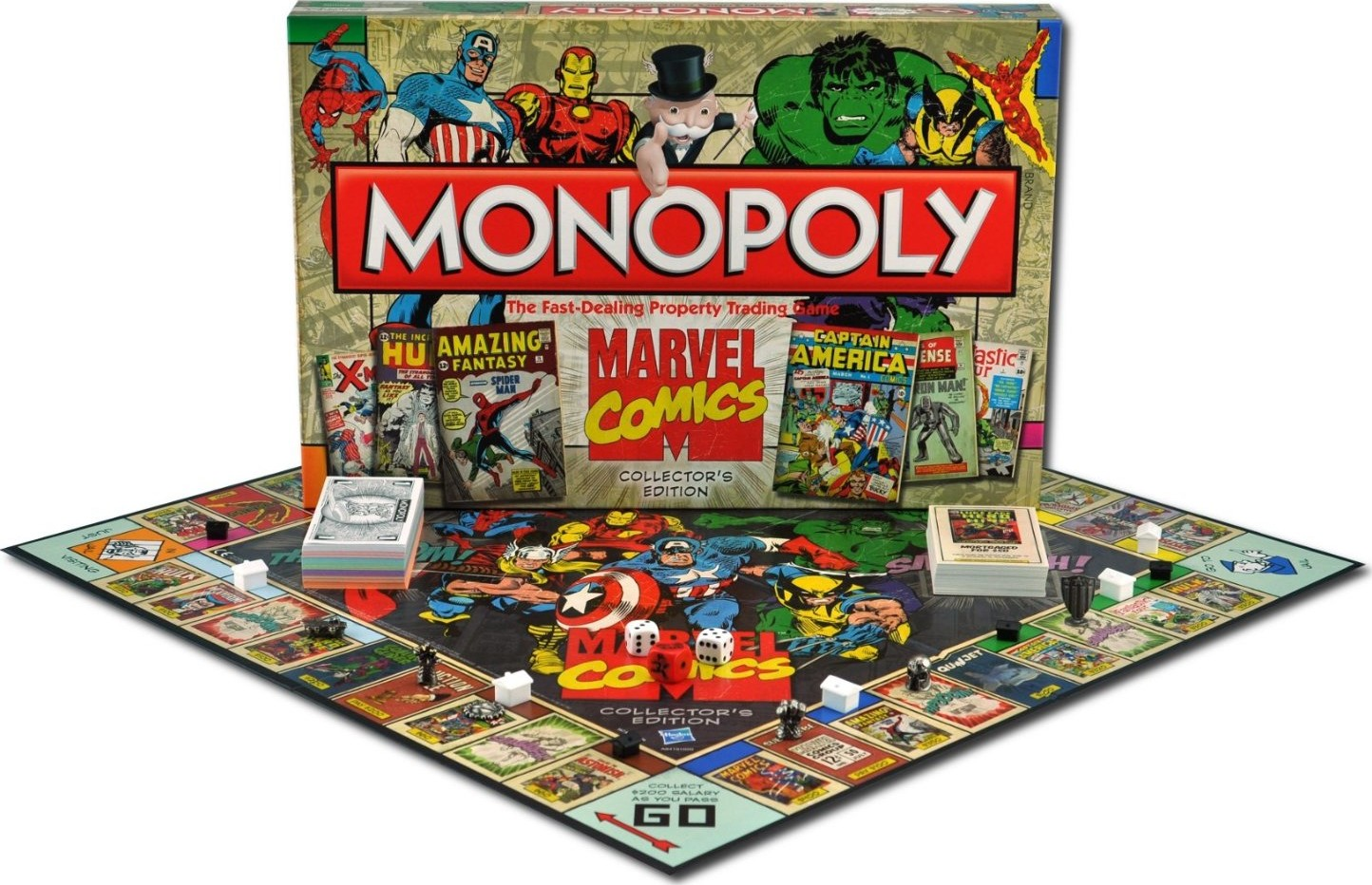Seconde boîte du Monopoly Marvel Comics
