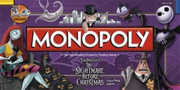Boite du Monopoly The Nightmare Before Christmas