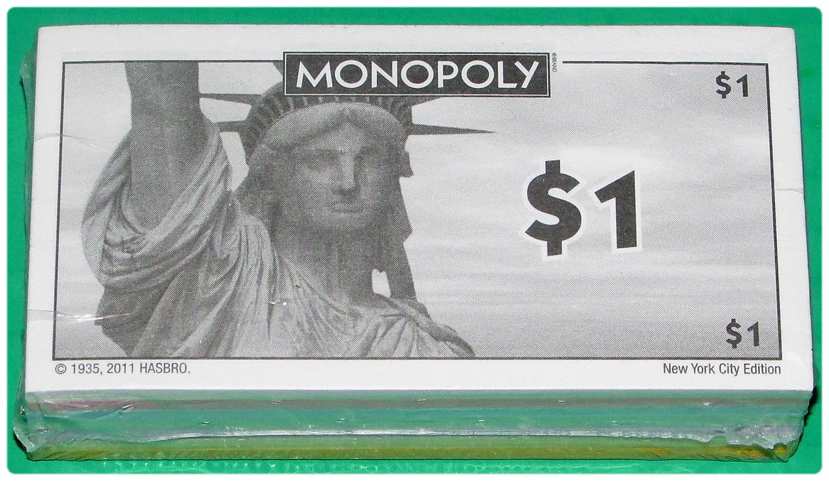 Billets du Monopoly New York City Collector