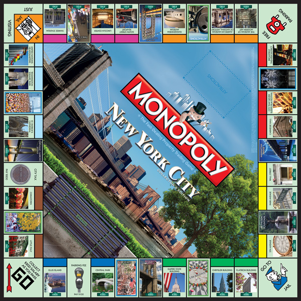 Plateau du Monopoly New York City Collector