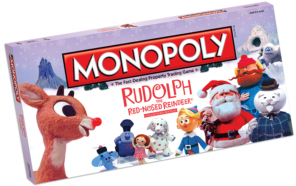 Boîte en 3 dimensions du Monopoly Rudolph the Red-Nosed Reindeer