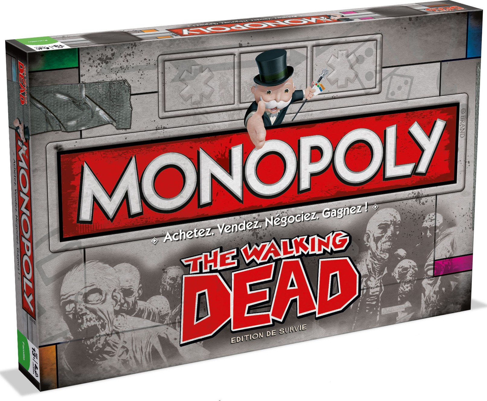 Boite du Monopoly The Walking Dead