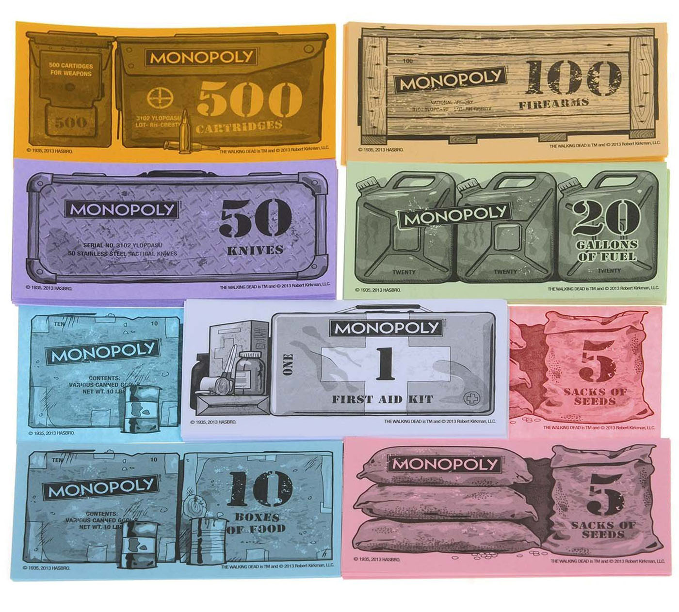 Billets du Monopoly The Walking Dead