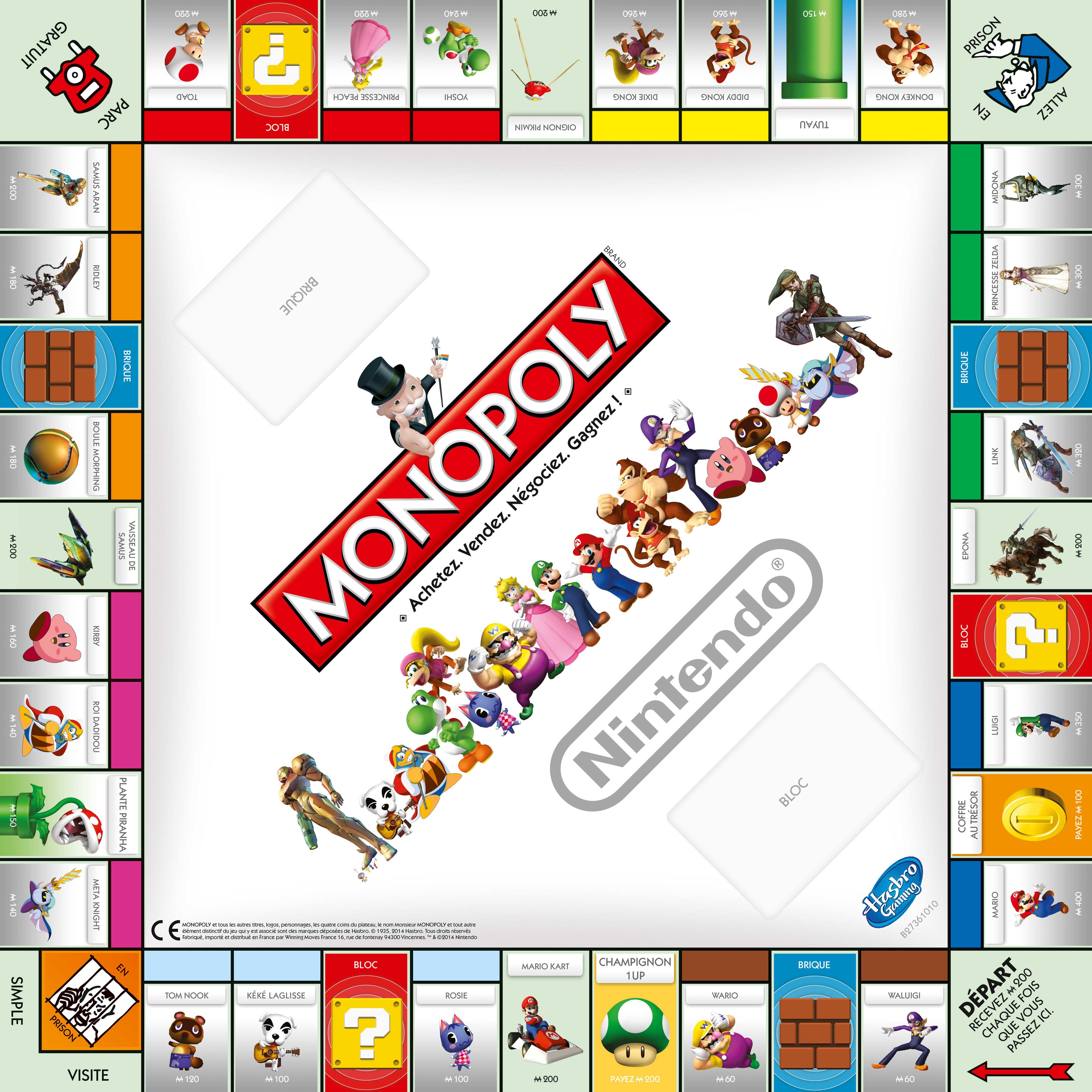 monopoly nintendo. Black Bedroom Furniture Sets. Home Design Ideas
