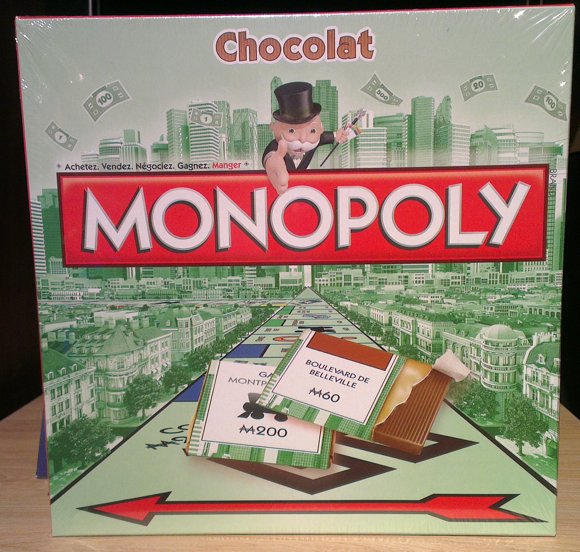 monopoly chocolat. Black Bedroom Furniture Sets. Home Design Ideas