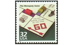 Timbres Monopoly