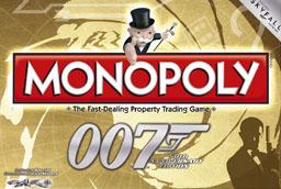 Boite du Monopoly James Bond 007 - 50e anniversaire