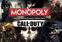 Boite du Monopoly Call Of Duty