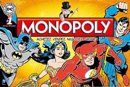 Boite du Monopoly DC Comics