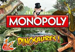 Boite du Monopoly Dinosaures