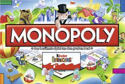 Boite du Monopoly Kinder Surprise - Kinder Überraschung