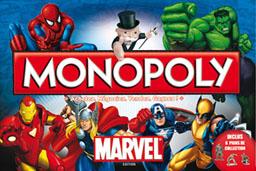 Boite du Monopoly Marvel